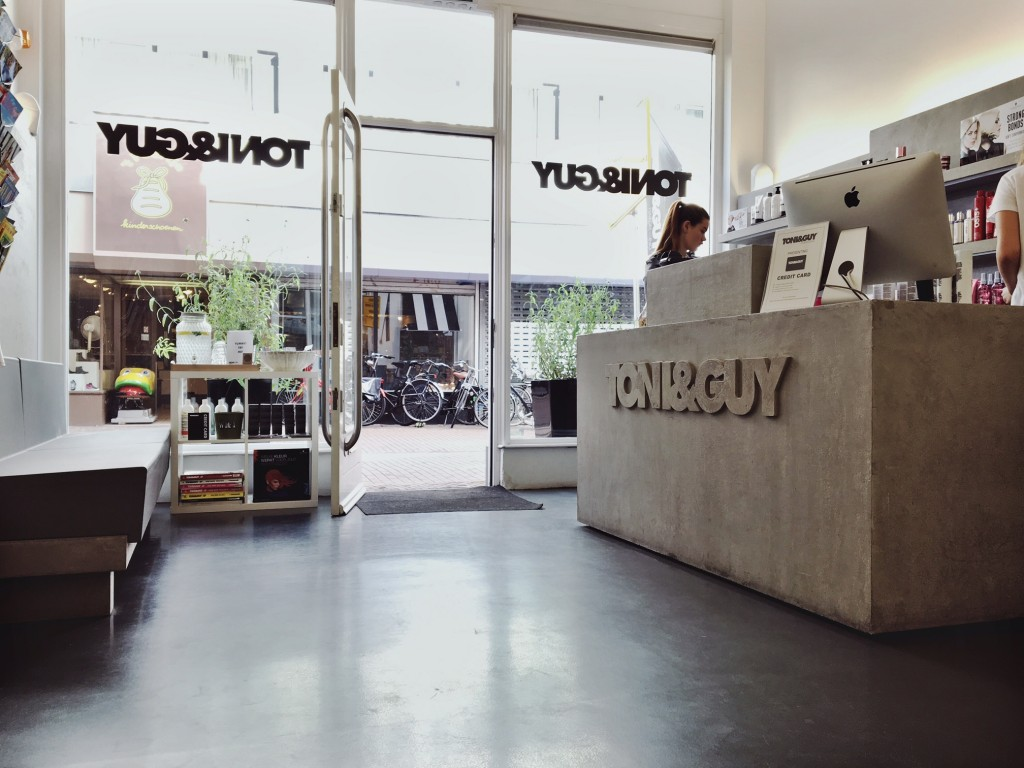 toni & guy Haarlem salon